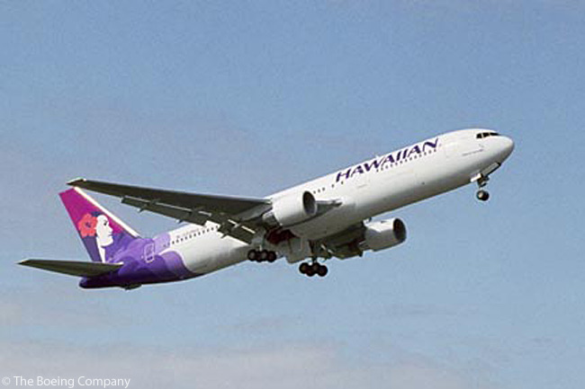 In 2001, for long-haul Boeing 767-300ER operations, Hawaiian Airlines became the first airline without prior ETOPS (extended-range, twin-engine operations) experience to gain 180-minute ETOPS approval from the FAA. This meant its aircraft could fly routes over ocean or remote territory where the nearest diversion airport was 180 minutes' flying time away from the aircraft's track