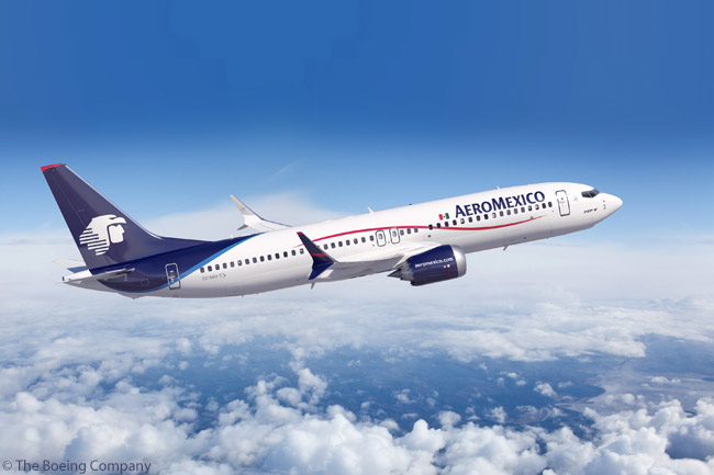 Grupo Aeromexico's November 6, 2012 order for 60 Boeing 737 MAX 8s and 9s, along with reconfirmation rights for 30 more, represents the largest-ever investment by a Mexican aviation company. The group's initial commitment for the aircraft, made on July 25, 2012, also included a commitment for 10 Boeing 787-9s. This order was to be finalized separately