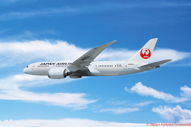 Japan Airlines took delivery of its first two Boeing 787s on March 26, 2012