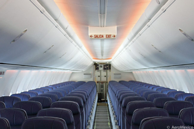 Aeromexico Adds First 737 800 With Boeing Sky Interior And