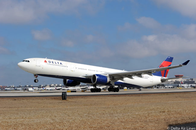 Among the many aircraft in Delta Air Lines' long-haul fleet are 21 Airbus A330-300s and 11 A330-200s. Not a traditional Airbus customer, Delta inherited the aircraft from Northwest Airlines when the two carriers merged under the Delta name