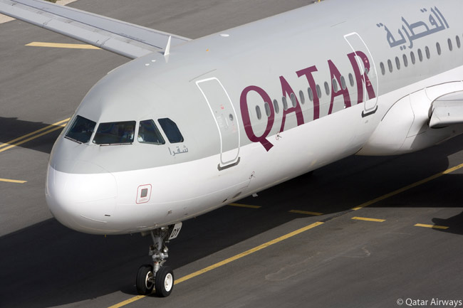 This is one of 12 Airbus A321-200s in Qatar Airways' fleet