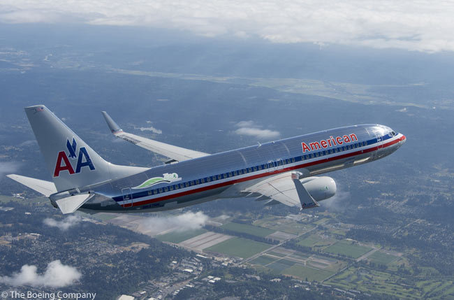 Through 2012, the 737-800 was Boeing's highest-selling 737 version, with well over 4,000 sold. During the summer of 2012, Boeing leased a new 737-800 due for delivery to American Airlines back from the airline for three months and used it to conduct flight-testing of advanced technologies aimed at reducing emissions, fuel consumption and community noise