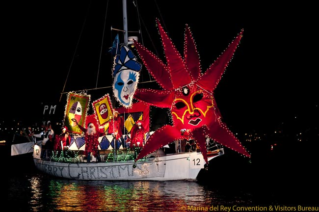 Marina del Rey Holiday Boat Parade Prepares for Its 50th Anniversary