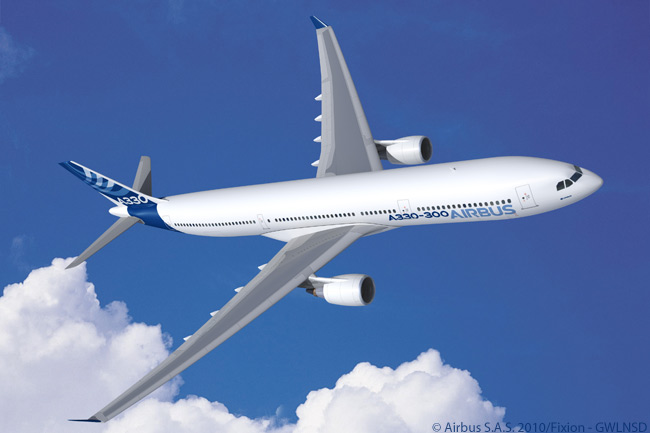 As the best-selling member of the popular Airbus A330 family, the A330-300 (shown here with General Electric CF6-80E1A4 engines) is regularly seen at more than 250 major airports worldwide. Many of the world's biggest international airlines operate the A330-300