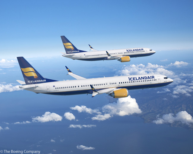 On December 6, 2012 Icelandair announced a commitment for 12 Boeing 737 MAXs, which Boeing valued at more than $1.2 billion at list prices. The commitment included 737 MAX 8s and 9s
