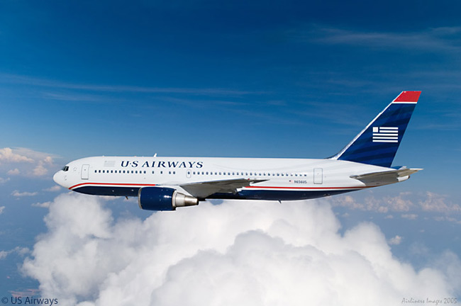 US Airways operates 10 Boeing 767-200ERs as part of its long-haul fleet but plans to replace them from 2017 with Airbus A330-200s