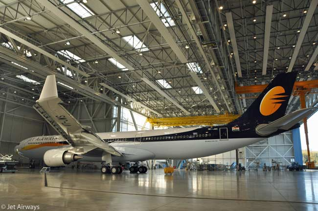 On December 13, 2012, Jet Airways took delivery of the first of four new Airbus A330-300s ordered from the manufacturer. All four were to be in service by 2013