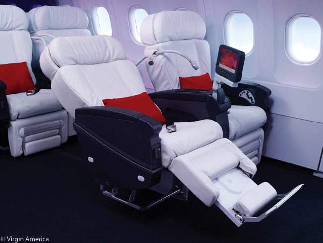 Review Virgin America Main Cabin And Main Cabin Select Airlines And Destinations