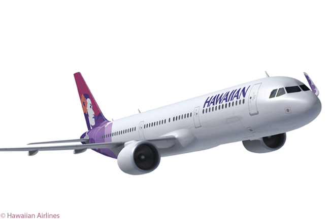 On January 7, 2013, Hawaiian Airlines signed a memorandum of understanding to order 16 Airbus A321neos and take purchase rights on nine more. The agreement calls for deliveries of the aircraft to begin in 2017