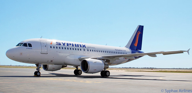 Syphax Airlines is the first privately owned carrier in Tunisia. It launched commercial services in 2011 with two leased Airbus A319s and subsequently added three leased A320s. In July 2013 Syphax Airlines placed an order directly with Airbus for three A320s and three A320neos. All its A320-family aircraft are powered by CFM International engines