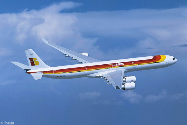 The Airbus A340-600 is the flagship of Iberia's fleet. In early 2013 the carrier had 17 of the type in service
