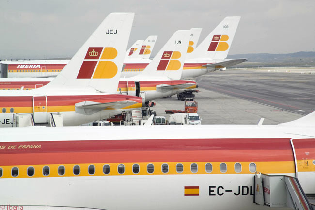 Iberia's main hub is at Madrid Barajas Airport, from where it operates domestic, European and long-haul intercontinental services