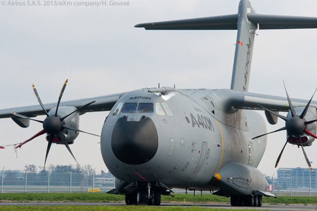 The A400M Atlas is the first major military-aircraft development project undertaken by Airbus. By early 2013, months before the aircraft was due to enter service, the A400M tactical airlifter had accumulated orders for 174 aircraft
