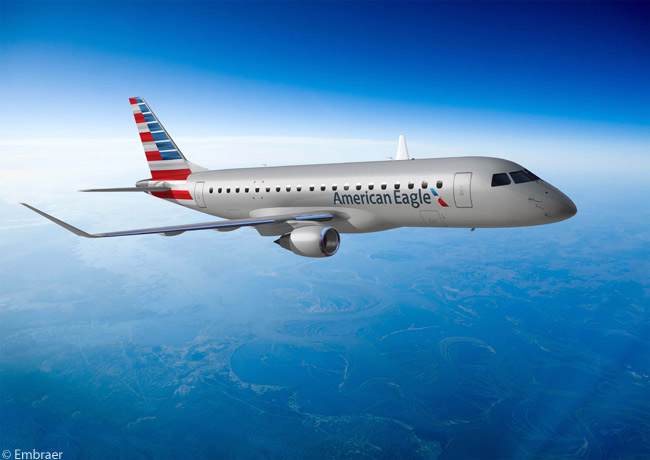 On January 24, 2013, Republic Airways Holdings of the U.S. ordered 47 Embraer 175s and optioned 47 more, for operation by its subsidiary Republic Airlines on the American Eagle network