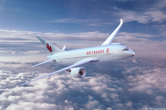 Air Canada was due to begin taking delivery of its first Boeing 787-8 Dreamliner in 2014, from a large order of 37 787-8s and 787-9s. The carrier also optioned 23 more 787s
