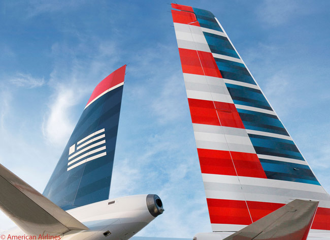 American Airlines and US Airways completed their merger on December 9, 2013