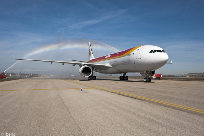 Iberia took delivery of its first Airbus A330-300 on February 15, 2013. The aircraft was named 'Tikal' and registered EC-LUB