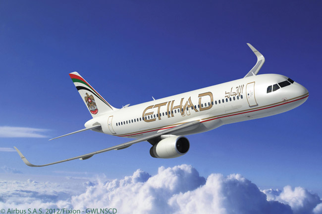 Etihad Airways contracted with Airbus to equip 17 A320s on order with Airbus' fuel-saving Sharklets. The wingtip devices measure 7.9 feet tall, replace the aircraft's V-shaped wingtip fences and are designed to reduce fuel burn, particularly over longer sectors, by reducing drag