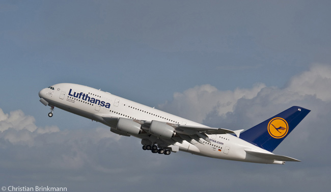On March 14, 2013, Lufthansa Group's supervisory board gave the airline permission to order two more Airbus A380s to add to 10 already in service
