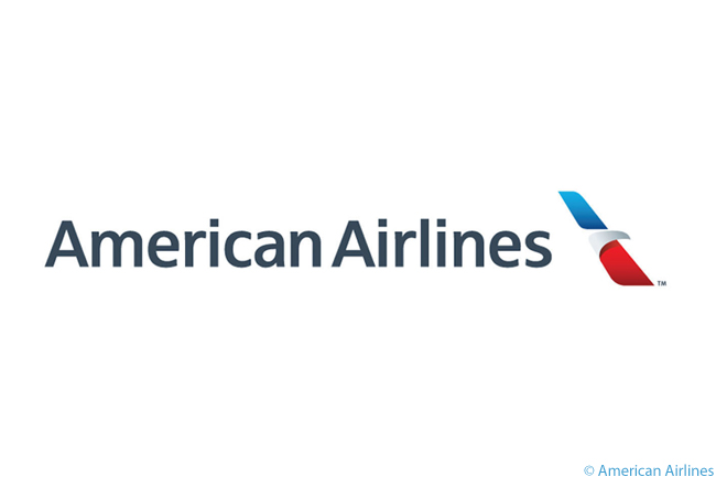 This is American Airlines' new logo, adopted along with a new livery after 40 years of the airline using its famous prior livery. This new logo does away with the iconic 'AA' logo, perhaps the most famous of any airline in the world, which American used in varying but related forms since the 1930s