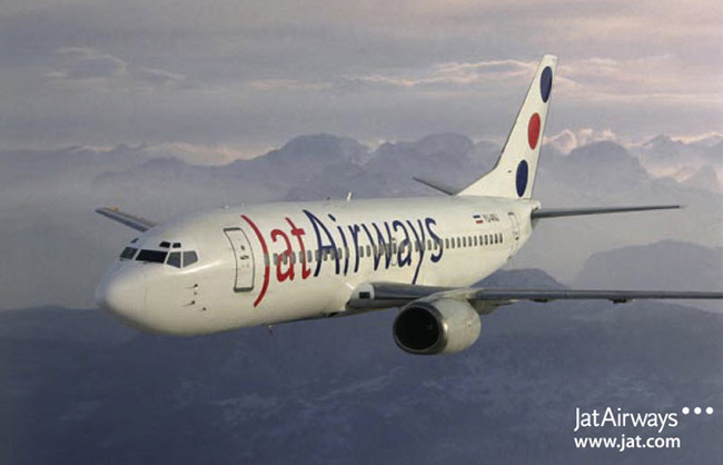 Jat Airways, the national carrier of Serbia, operates a fleet of 10 Boeing 737-300s and three ATR 72-200s. These aircraft are to be supplemented or replaced by two Airbus A319s, two A320s and four A320neos, along with two new ATR 72-600s