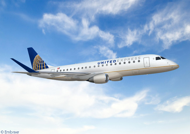 On April 29, 2013, United Airlines ordered 30 Embraer 175s and optioned 40 more. The first Embraer 175 delivery to United was due in the first quarter of 2014 and the aircraft are for operation on the United Express regional-airline network