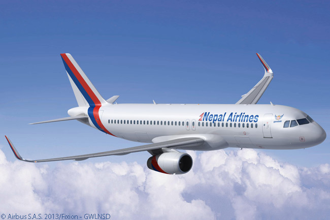 On April 29, 2013, Nepal Airlines Corporation signed a memorandum of understanding to buy two new Airbus A320s equipped with drag-reducing Sharklets. The airline firmed its order on July 1, 2013