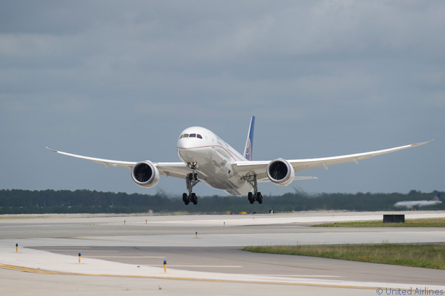 After the entire Boeing 787 fleet was grounded for more than three months from January 15, 2013 as a result of battery smoke and fire incidents, United Airlines began service again with the type on May 20, 2013