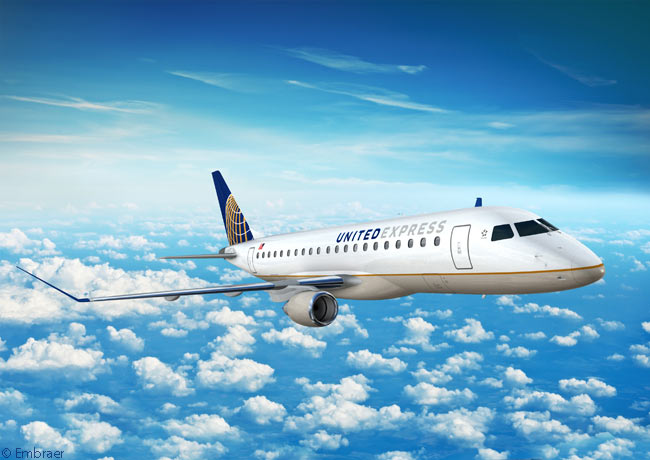On May 21, 2013, SkyWest. Inc. place a firm order for 40 Embraer 175 regional jets, to be operated on behalf of United Airlines. At the same time SkyWest signed a reconfirmable order for another 60 of the type and optioned 100 more, taking its potential firm order for Embraer 175s to 200 aircraft. This was potentially the largest Embraer E-Jets order ever