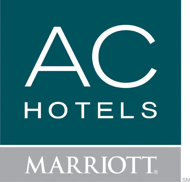 This is the official logo of the AC Hotels by Marriott brand, a European hotel brand which Marriott International is expanding to the Americas