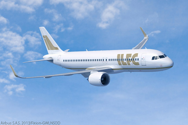 At the Paris Air Show on June 17, 2013, Airbus announced that leasing company ILFC has ordered another 50 A320neo-family jets, taking its total firm orders for the A320neo family to 150 aircraft