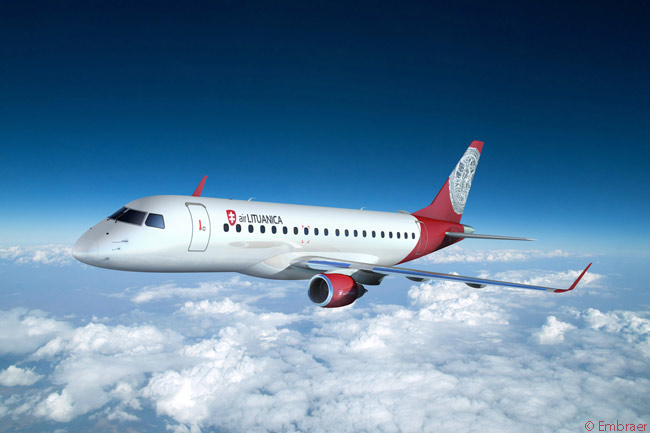 Vilnius-based start-up Air Lituanica acquired an Embraer 170 and an Embraer 175 on lease in order to begin scheduled services at the end of June 2013
