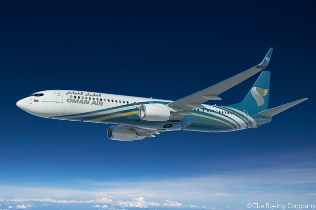 On June 19, 2013, Oman Air an order for five Boeing 737-900ER jets at the 2013 Paris Air Show. Boeing values the order, previously listed on the Boeing Orders & Deliveries website as being for an unidentified customer, at $473 million at current list prices