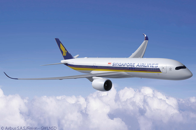 On June 19, 2103, Singapore Airlines finalized an order for 30 additional Airbus A350-900s, taking its total firm buy of the type to 70 aircraft. The deal also included options on another 20 A350 XWBs, which Singapore Airlines will be able to specify either as A350-900s or as large A350-1000s when exercising the options
