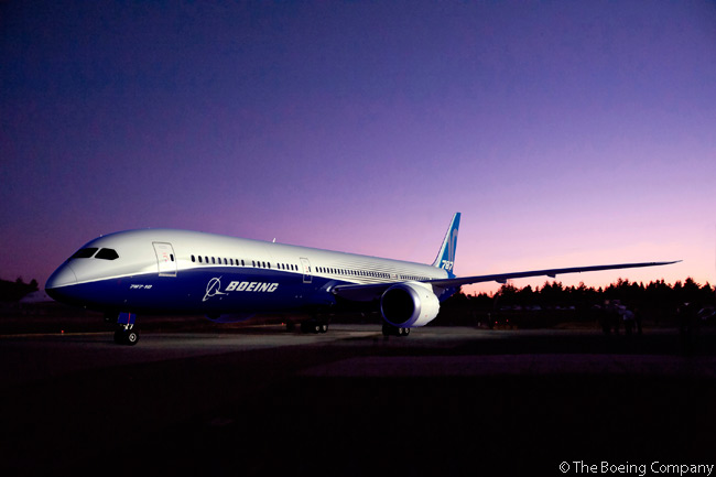 Boeing launched the 787-10 program on June 18, 2013, at the Paris Air Show. The program launch was accompanied by the announcement of orders and commitments for 102 Boeing 787-10s, from five customers