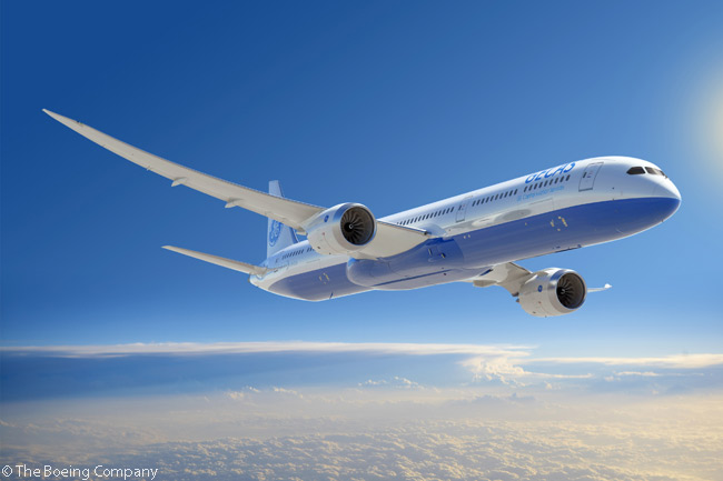 GE Capital Aviation Services, the aircraft leasing and financing arm of General Electric, announced at the Paris Air Show on June 17, 2013 a commitment for 10 Boeing 787-10s, all powered by GE GEnx engines