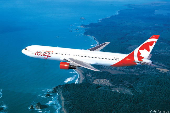 In addition to two Airbus A319s the initial fleet of Air Canada rouge, the new leisure-travel airline brand launched by Air Canada, included two Boeing 767-300ER widebodies, mainly to be used for operating transatlantic leisure-traffic routes