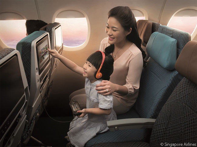 In its new KrisWorld in-flight entertainment system Singapore Airlines has made a multitude of changes designed for user-friendliness and increased functionality. In each cabin class, the seat-back LCD monitors for the new IFE systems are also bigger than previous KrisWorld seat-back screens