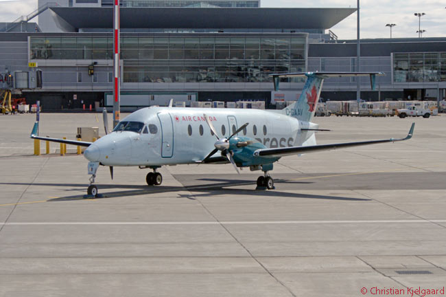Canadian regional carrier Air Georgian operates a fleet of 17 18-seat Beech 1900D turboprops on commercial services within Canada and to U.S. destinations, many or all of them under the Air Canada Express brand