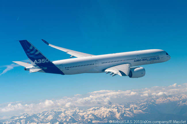By July 15, 2013, the first flying Airbus A350-900 had achieved 92 flight-test hours since its first flight a month previously. By then the tests had produced clearance of the aircraft's entire flight envelope opened and key systems tests had been performed successfully, according to Airbus. The manufacturer planned a 2,500-hour flight-test program for the A350-900, involving five aircraft
