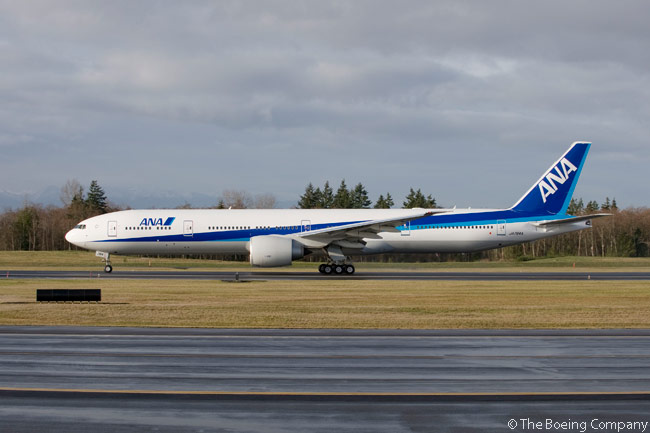 On July 31, 2013, ANA ordered three additional Boeing 777-300ERs. The order, which Boeing valued at approximately $945 million at current list prices, would increase the total number of 777s in ANA's fleet to 57 (22 of them 777-300ERs) once the three aircraft were delivered