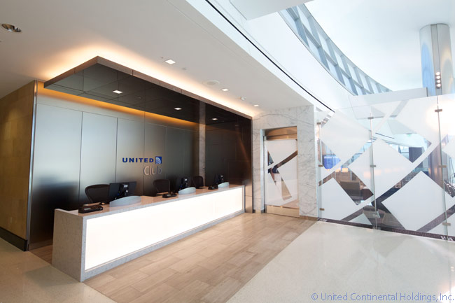United Airlines opened a new United Club lounge at San Diego International Airport on August 13, 2013