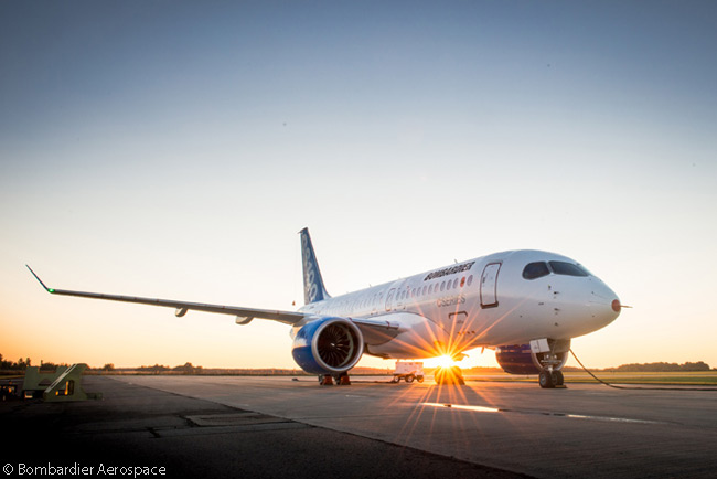 Bombardier Aerospace obtained a Flight Test Permit for the first flight-test CS100 from Transport Canada on August 30, 2013, indicating that the date for the first flight of the first CSeries jet was drawing close