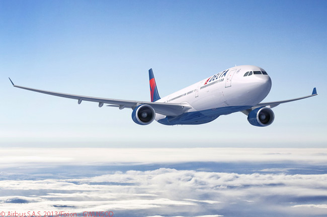 The 10 Airbus A330-300s that Delta Air Lines ordered on September 4, 2013 would be the first examples of the manufacturer's new 242-tonne, higher gross weight version of the A330-300 to be operated by an airline