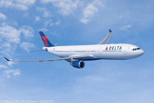On September 4, 2013, Delta Air Lines announced an order for 10 General Electric CF6-80E-powered Airbus A330-300s, to add to 32 A330s the airline already had in service