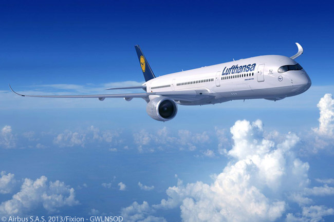 On September 19, 2013, Lufthansa Group announced that its supervisory board had approved a firm order for 25 Airbus A350-900s along with options on 30 more. At the same time the Lufthansa Group supervisory board approved a firm order for 34 Boeing 777-9Xs, before Boeing had formally launched the 777X program