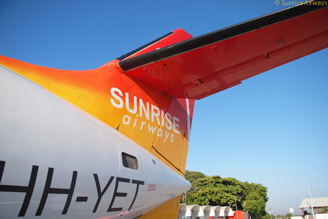 Sunrise Airways is based at Toussaint Louverture International Airport in Port-au-Prince, the capital of Haiti