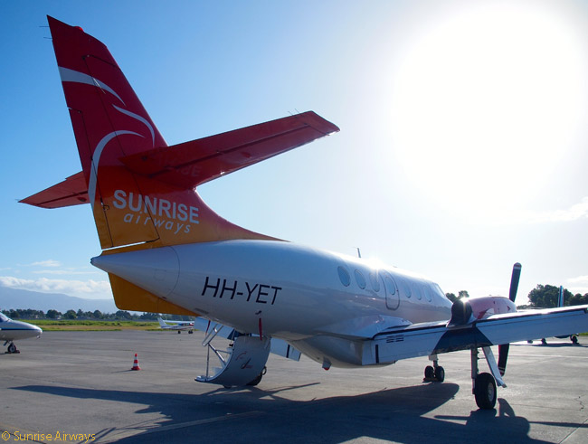 Sunrise Airways aims to establish a network of scheduled and charter routes throughout the Western Caribbean region