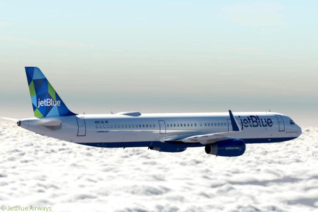 JetBlue Airways introduced a new tailfin design, 'Prism', with the delivery of its first Airbus A321. The Prism tailfin design, JetBlue's ninth scheme to be featured on more than one aircraft's tailfin, is exclusive to its A321 fleet